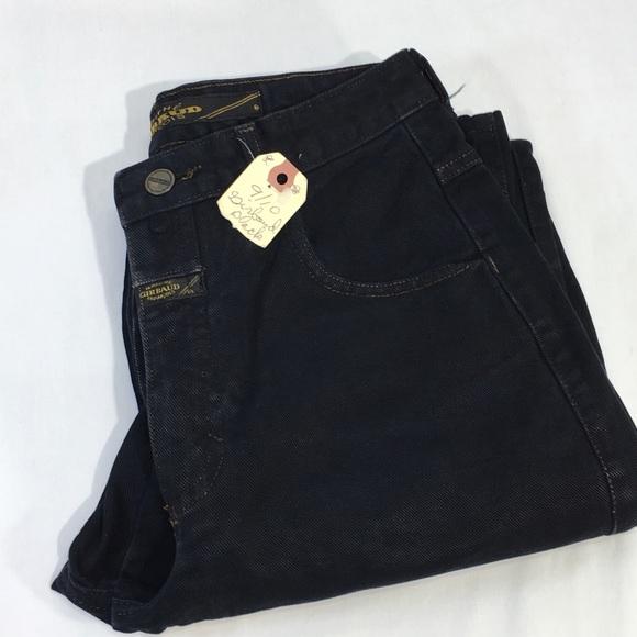 Girbaud Denim - Girbaud Vintage Jeans High Rise Tapered Black LONG